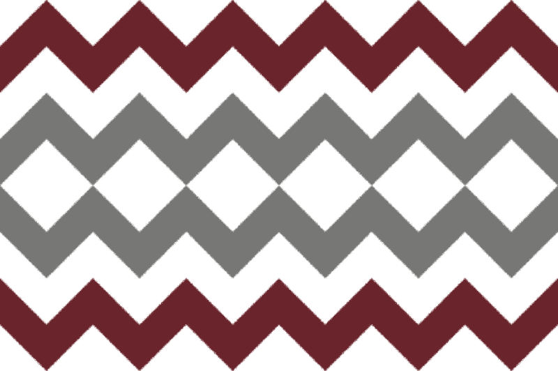 Grey and burgundy stripes. Chevron clipart maroon