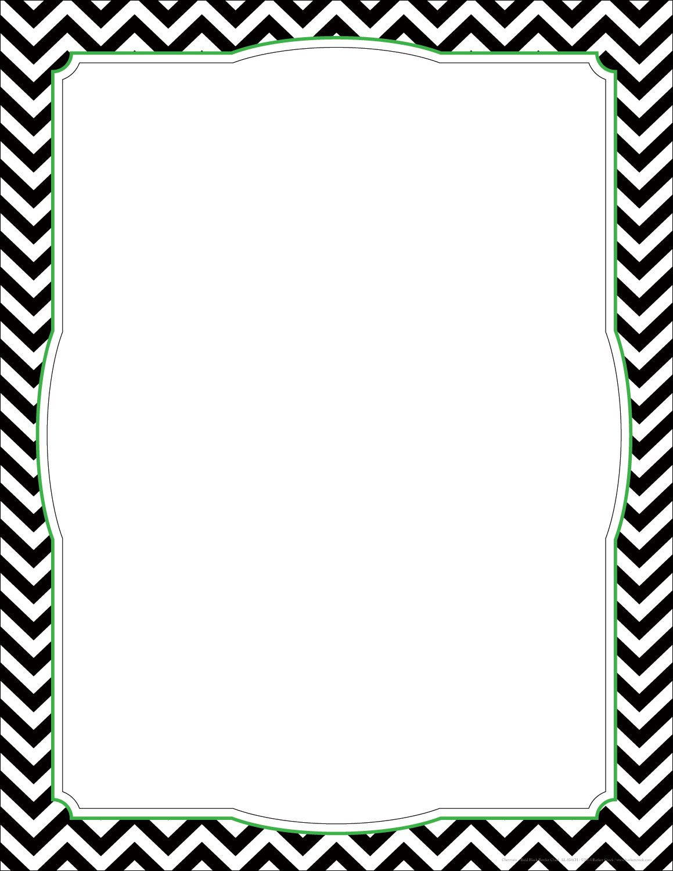 Boarder clipart paper. Chevron borders free large