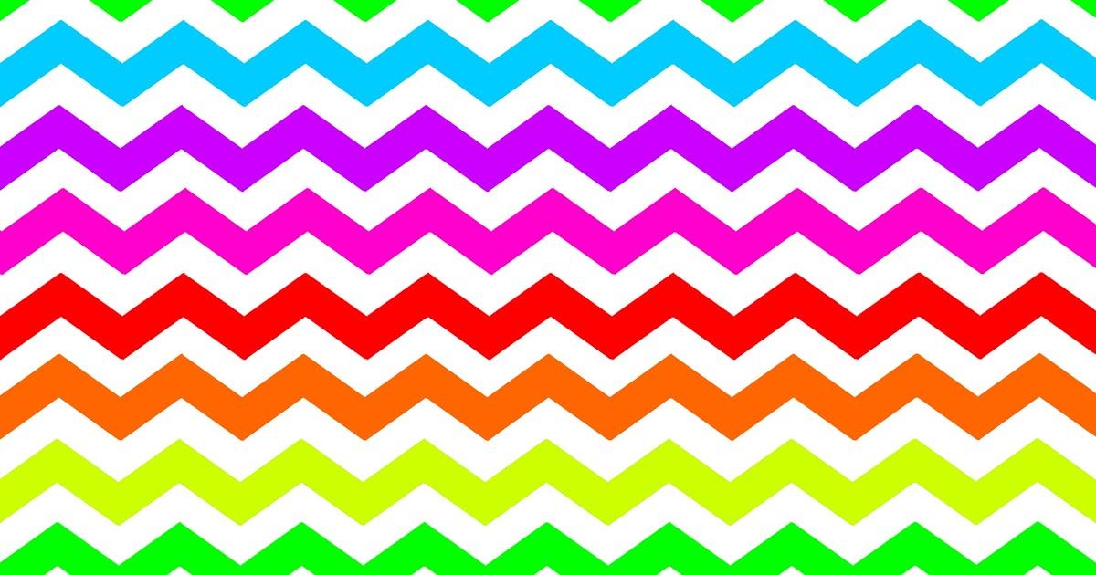 Doodlecraft new colors background. Chevron clipart rainbow