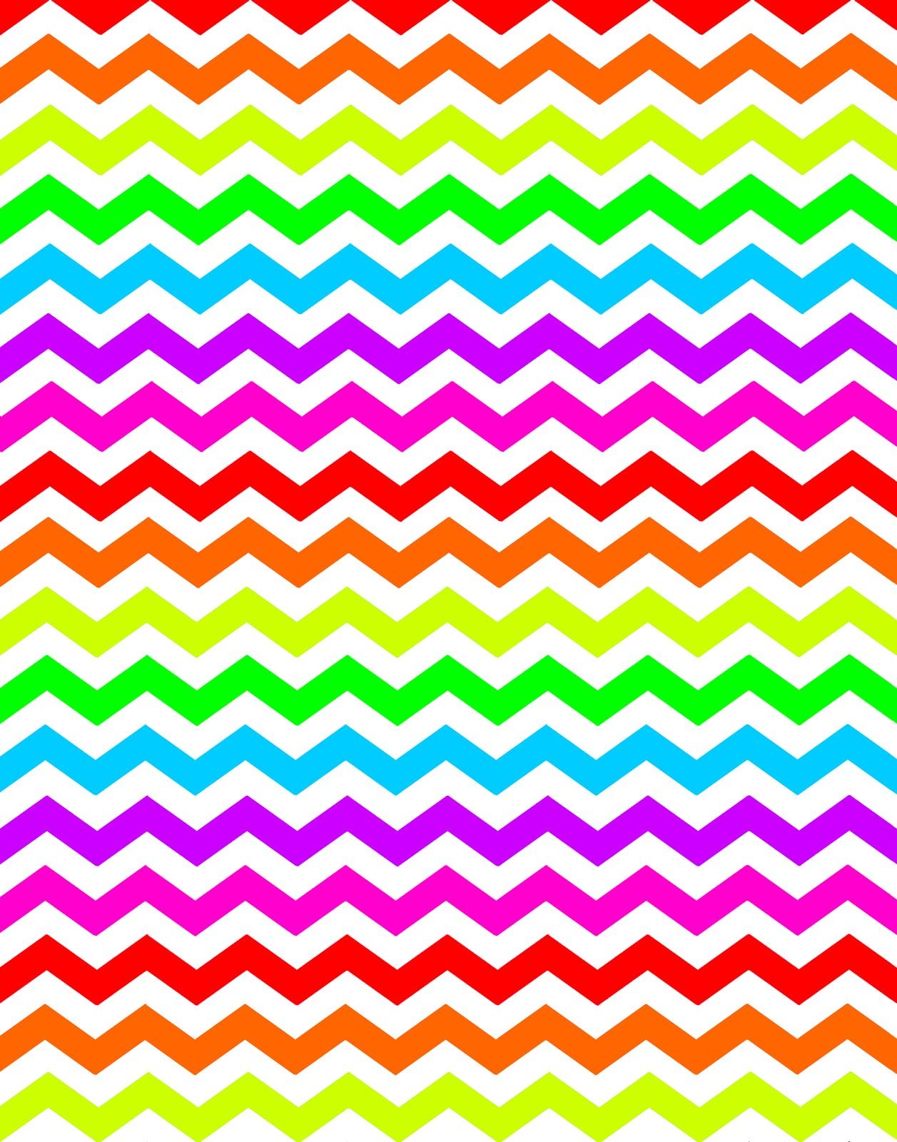 Chevron clipart rainbow. Doodlecraft new colors background