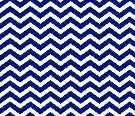 Chevron clipart royal blue. Dark fabric by blissdesignstudio