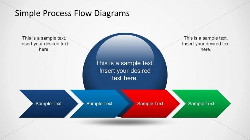 process flow slidemodel. Chevron clipart simple