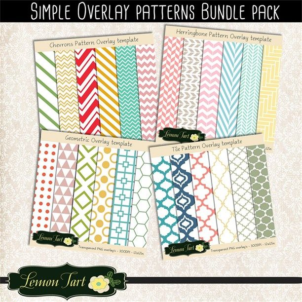 Chevron clipart simple. Overlay bundle pack moroccan