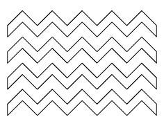 photo about Free Printable Chevron Pattern identify Chevron clipart stencil, Chevron stencil Clear No cost