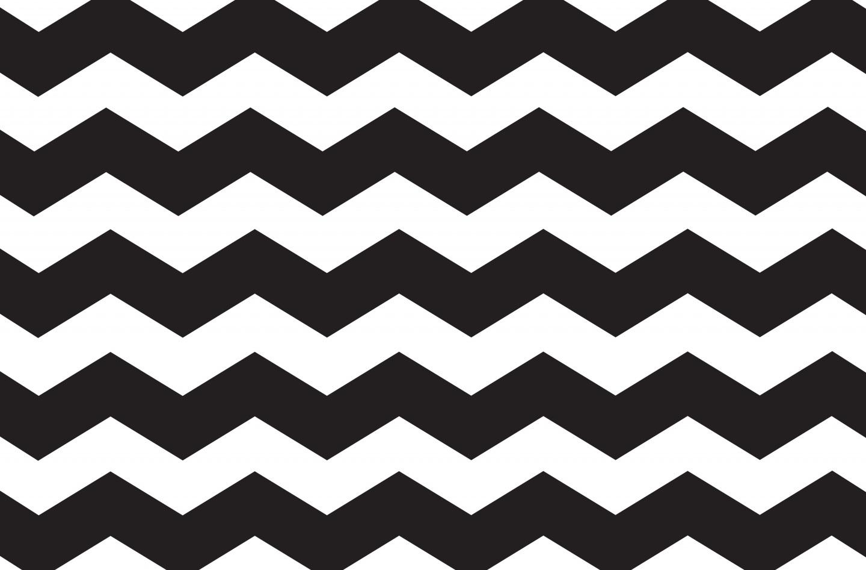 Black and white zig. Chevron clipart stripe