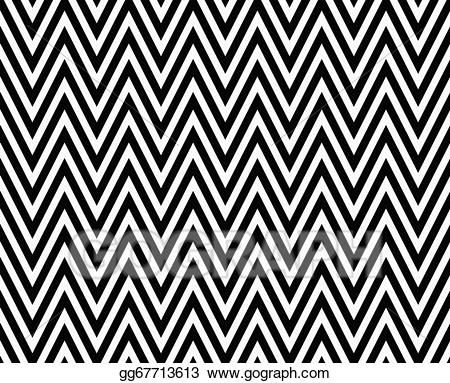 Stock illustration thin black. Chevron clipart stripe
