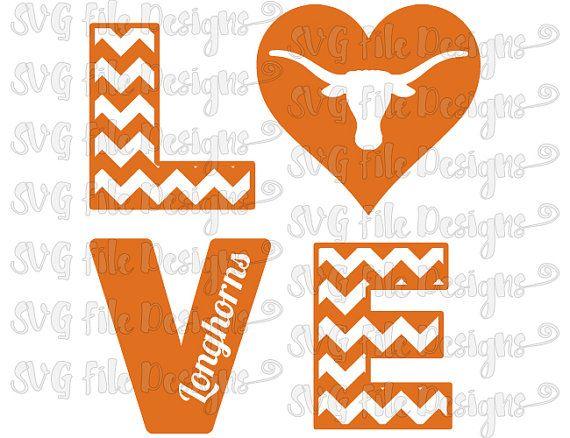 Love university of texas. Chevron clipart symbol