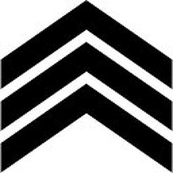 Arrow to right ios. Chevron clipart symbol