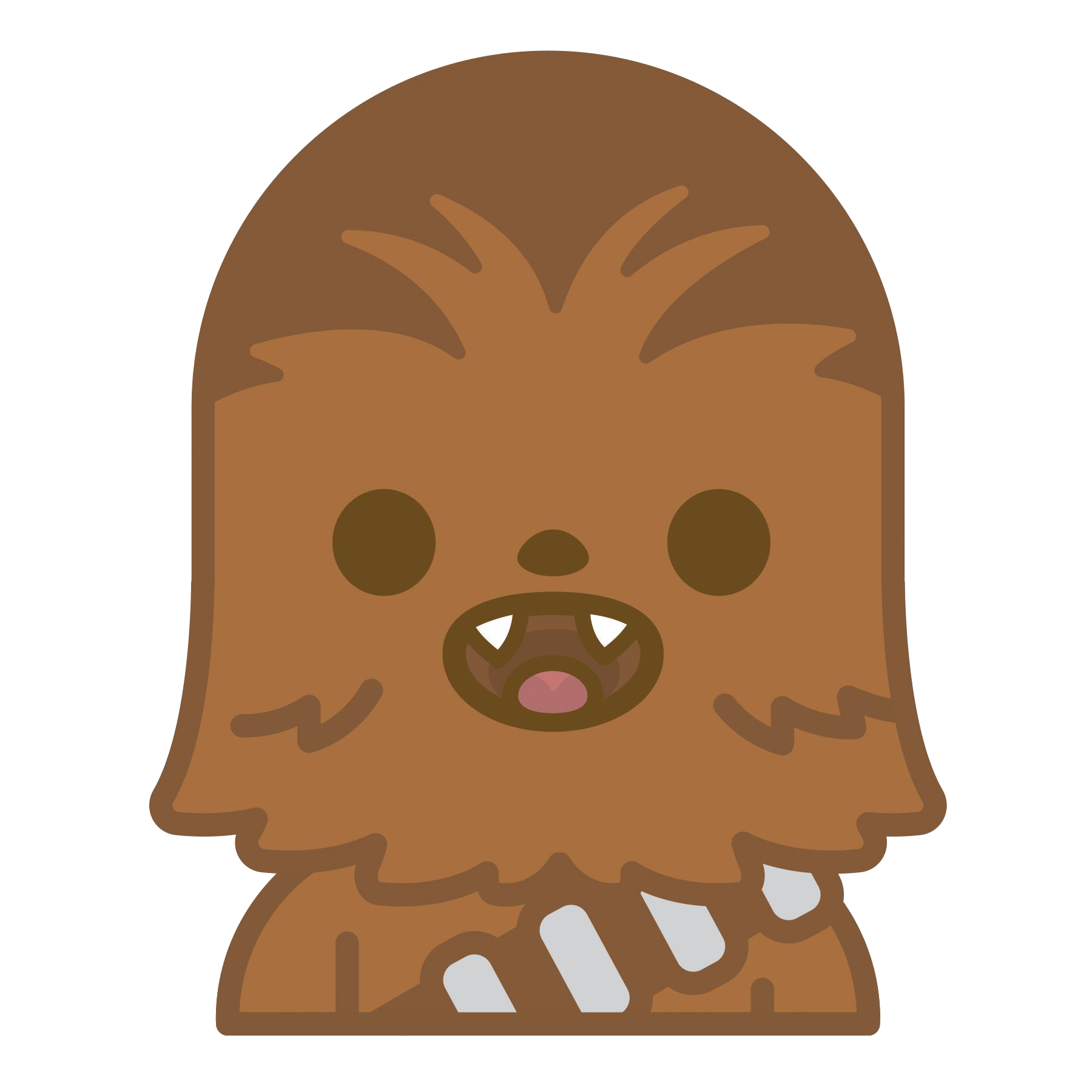 Star wars emoji chewbacca. Starwars clipart animated
