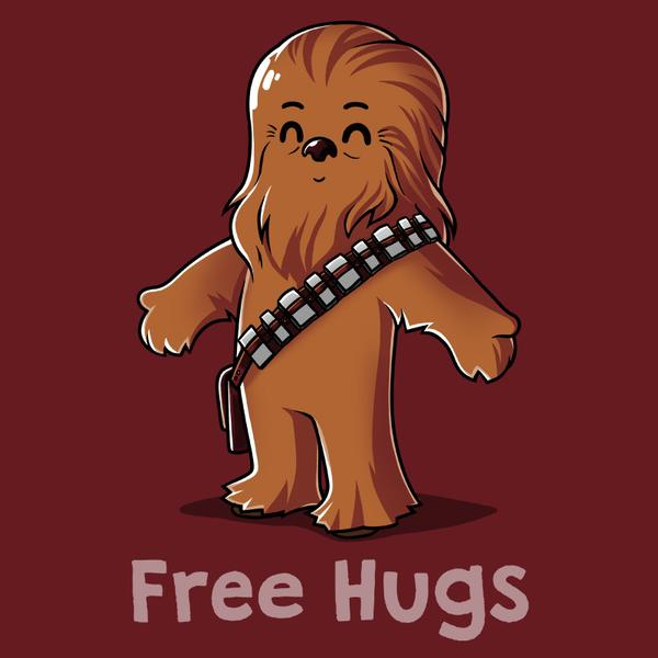 Chewbacca clipart. Hug a wookiee t