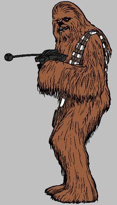 Chewbacca clipart abstract. Star wars badassery pinterest