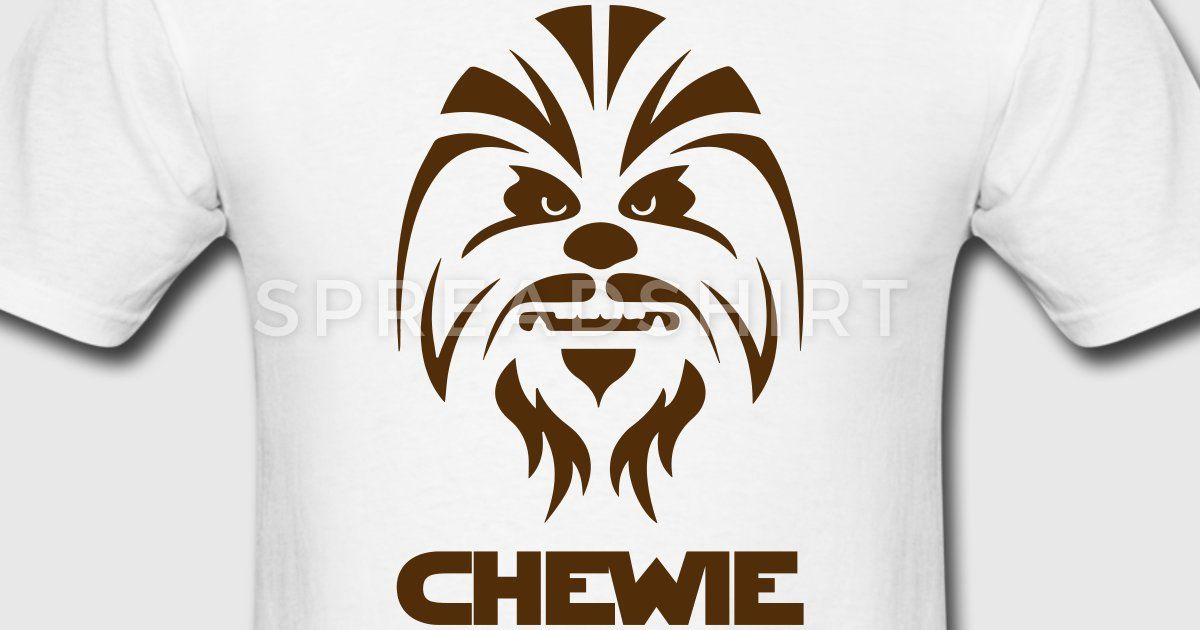 Chewbacca clipart abstract. Chewie star wars scifi