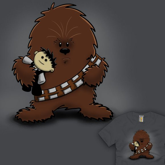 best han chewie. Chewbacca clipart abstract