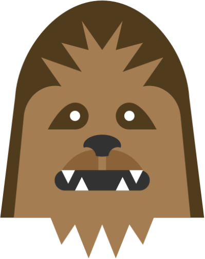 Chewbacca clipart abstract. Free png images vectors