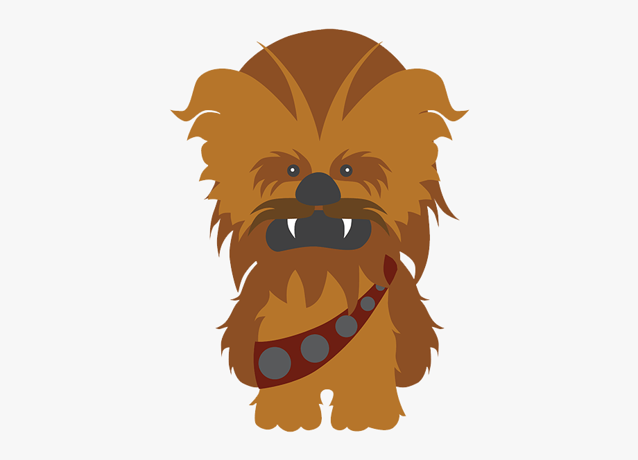 Chewbacca clipart animated. Star wars clip art