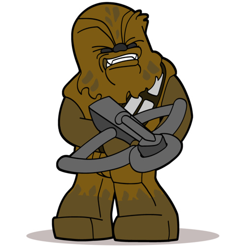 Chewbacca clipart animated. Free cliparts download clip