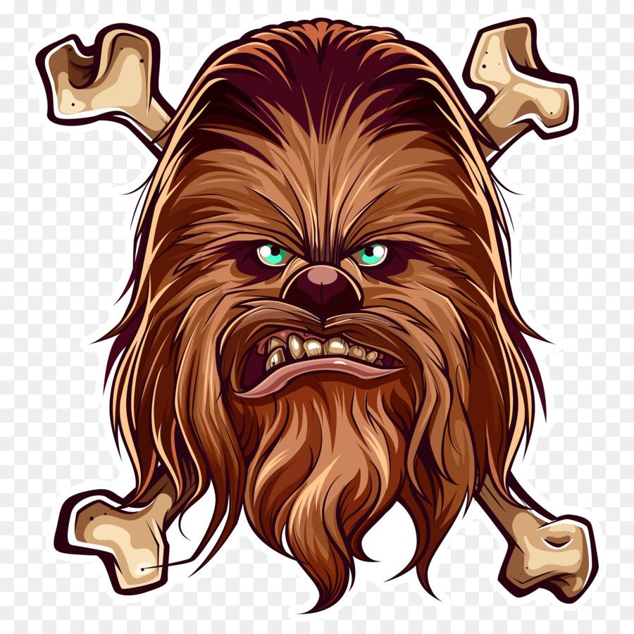 Anakin skywalker han solo. Chewbacca clipart animated