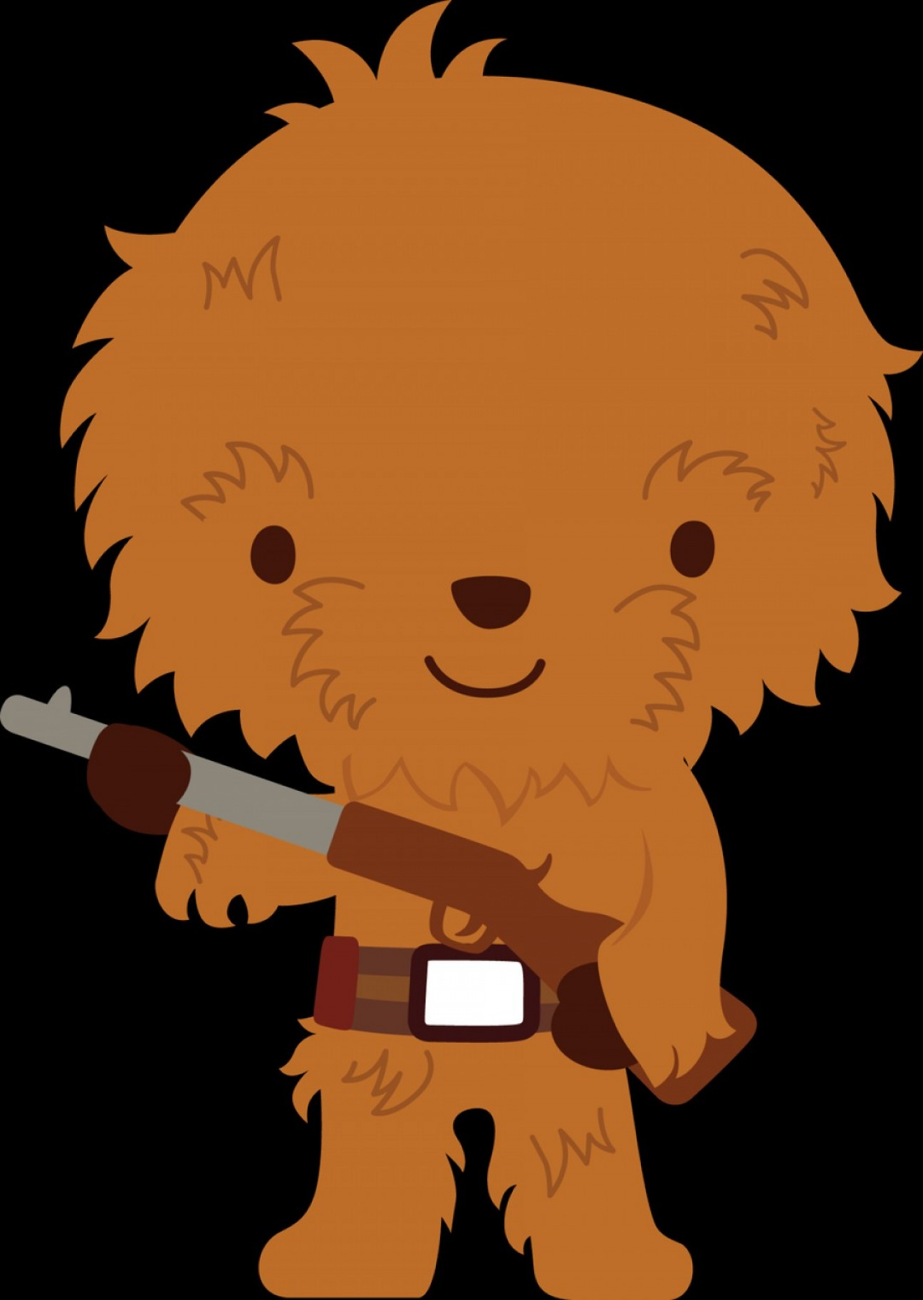 Chewbacca clipart animated. Head vector lamaison