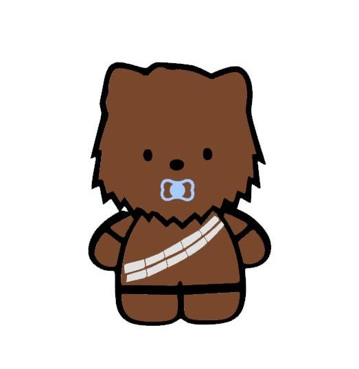Chewbacca clipart baby. Free download best on