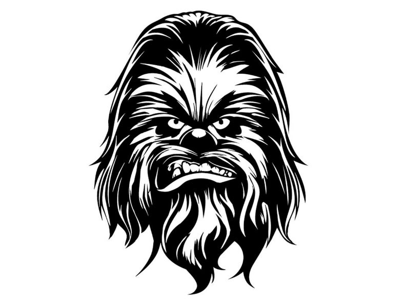 Chewbacca clipart back. Download for free png