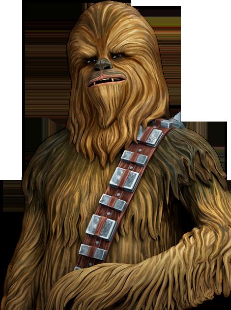 chewbacca clipart back