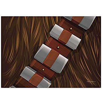 Chewbacca clipart belt. Amazon com fanwraps star