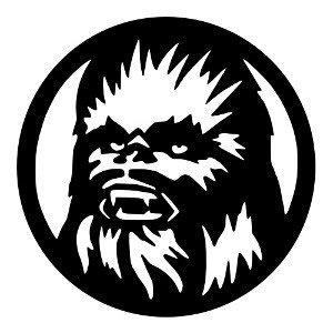 Amazon com star wars. Chewbacca clipart black and white