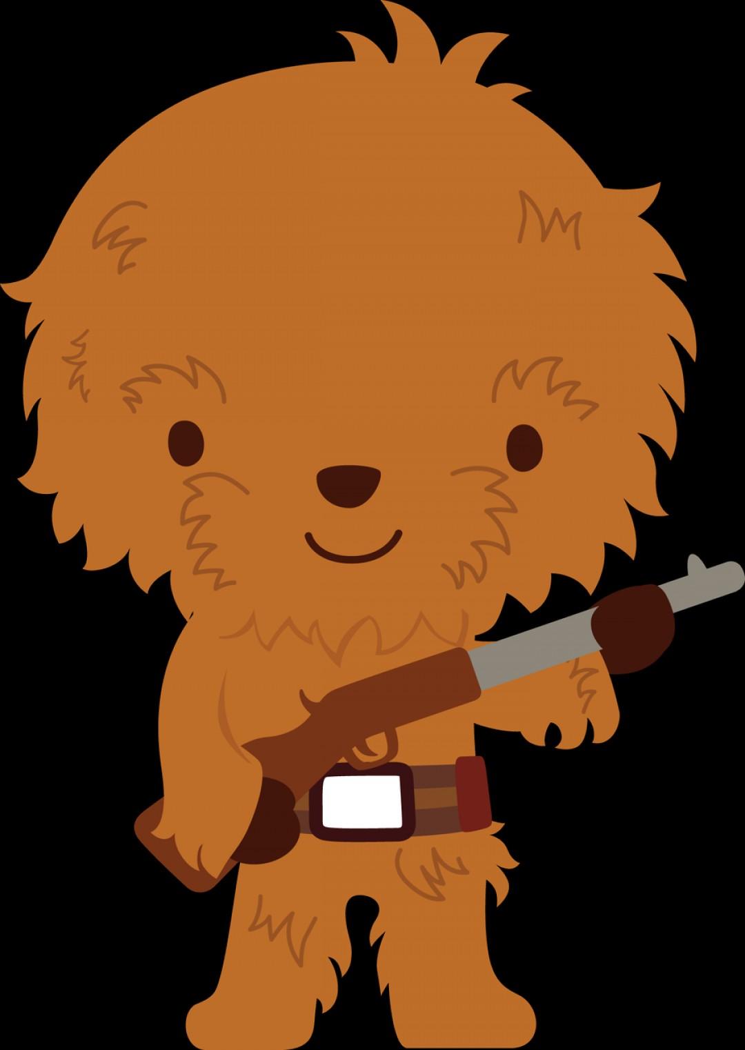 Of star wars chewie. Chewbacca clipart cartoon