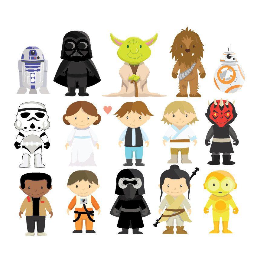 Star wars character google. Starwars clipart cartoon