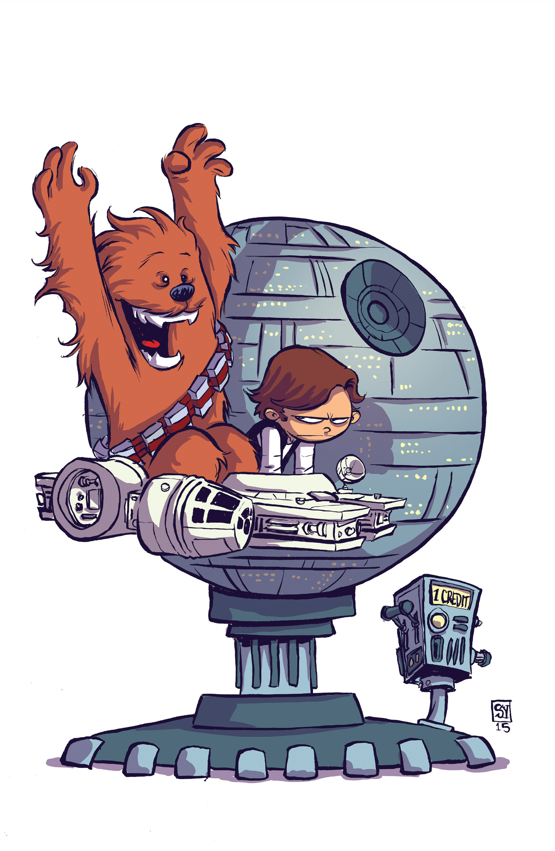 Chewbacca clipart chewbaca. Image young variant textless