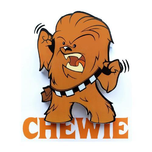 Star wars mini d. Chewbacca clipart chewbaca