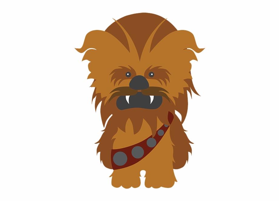 Chewbacca clipart chewbaca. Star wars dibujo clip