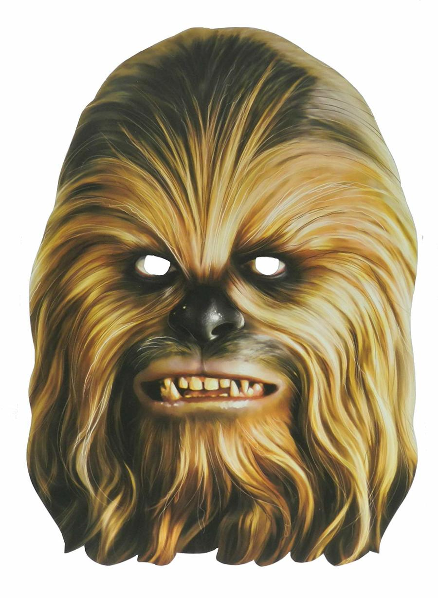 Chewbacca clipart chewbacca face. Download star wars masks