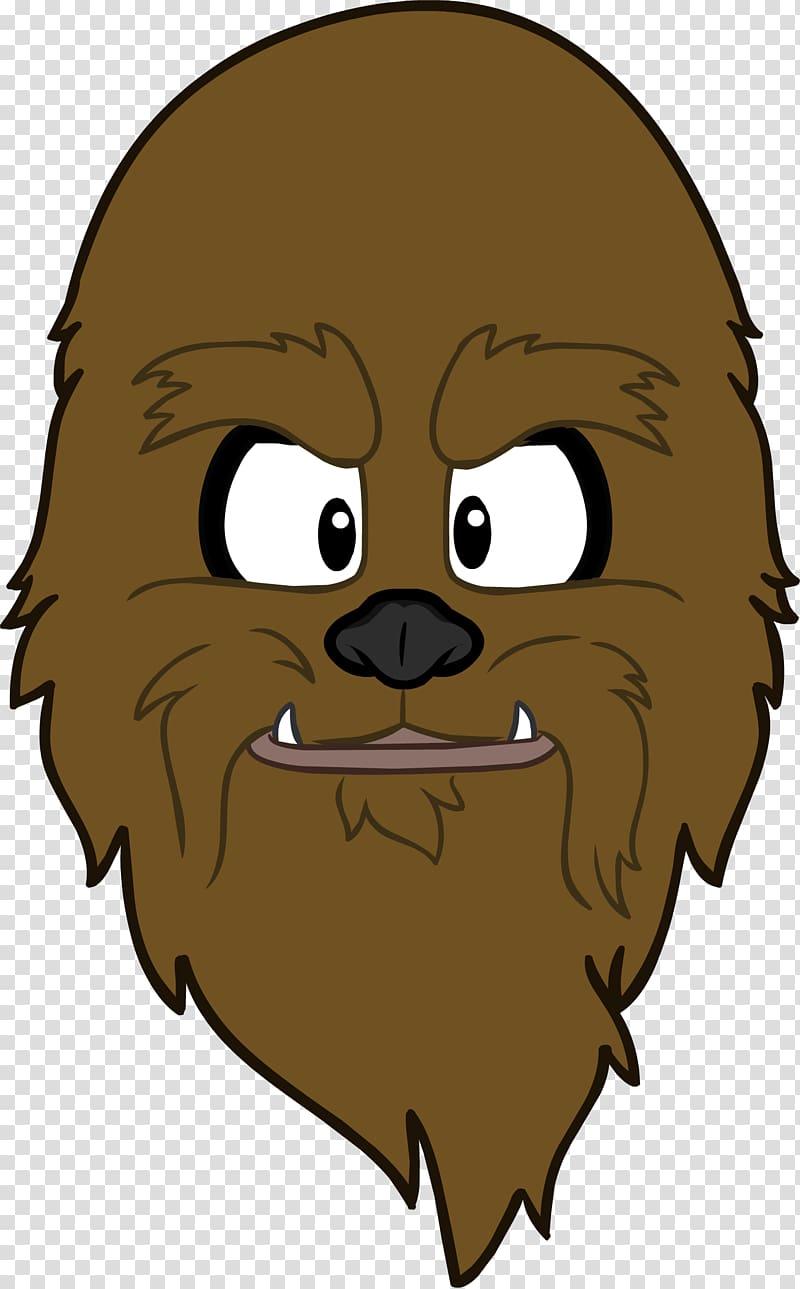 Club penguin yoda wookiee. Chewbacca clipart chewbacca face