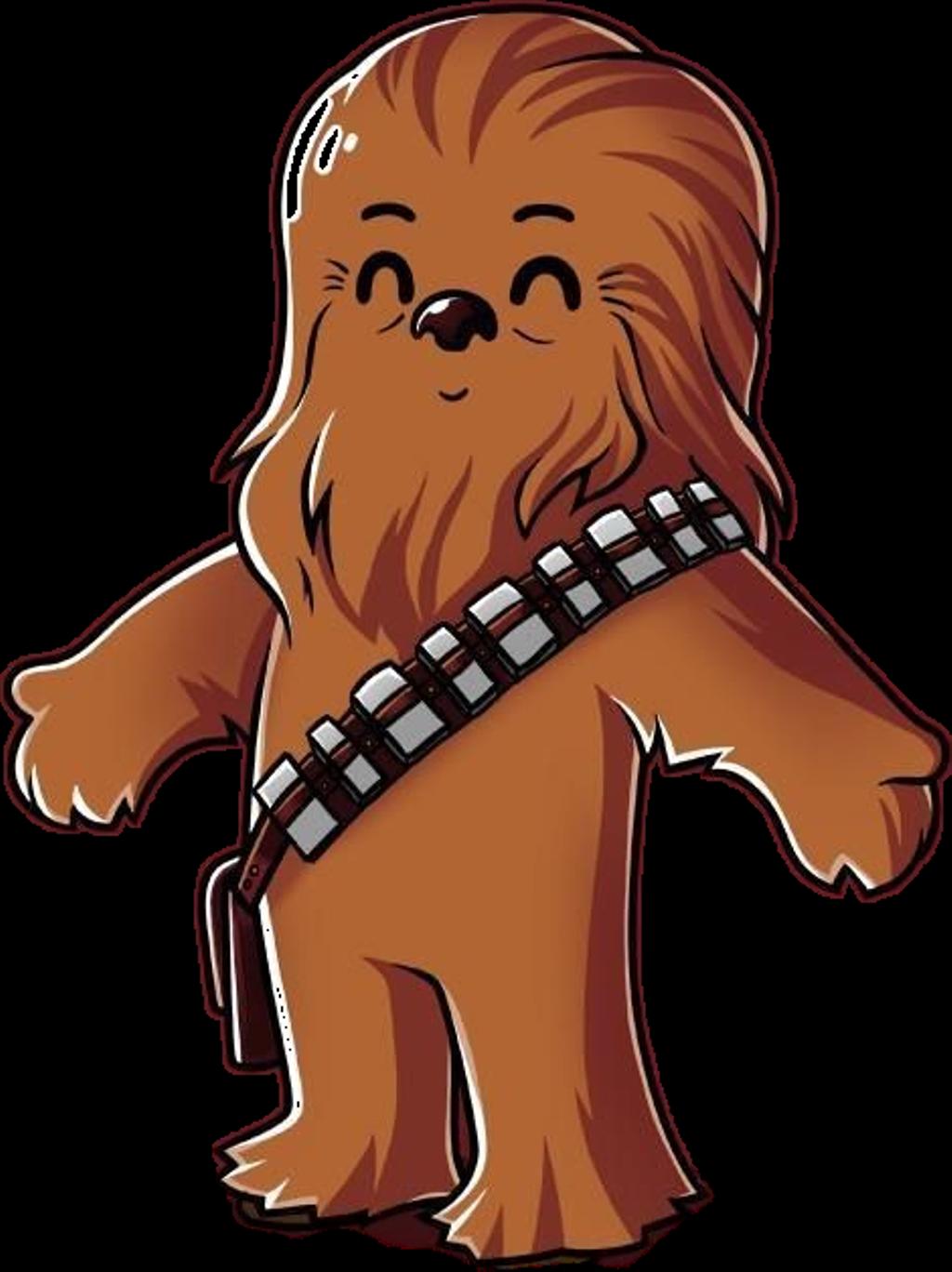 Chewbacca clipart chibi. Starwars chubaca chubaka star