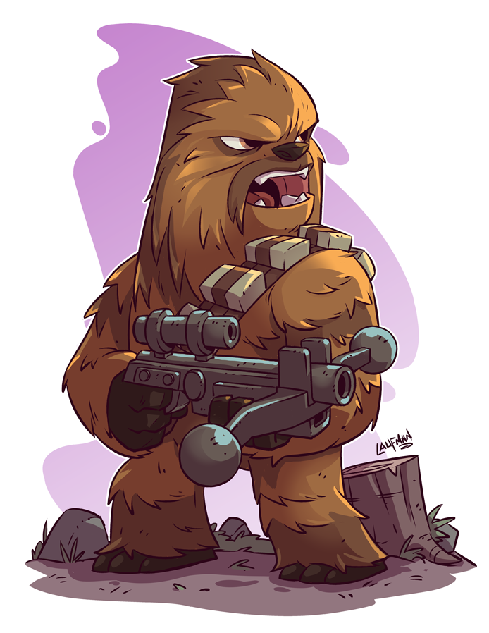 Search results for star. Chewbacca clipart chibi