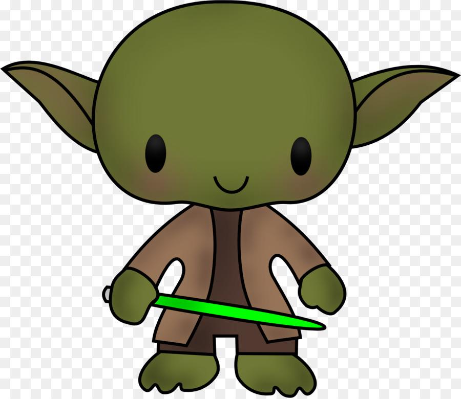 Yoda leia organa r. Chewbacca clipart clip art