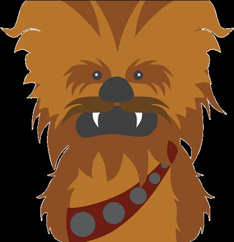 Chewbacca clipart clip art. Download star wars transparent