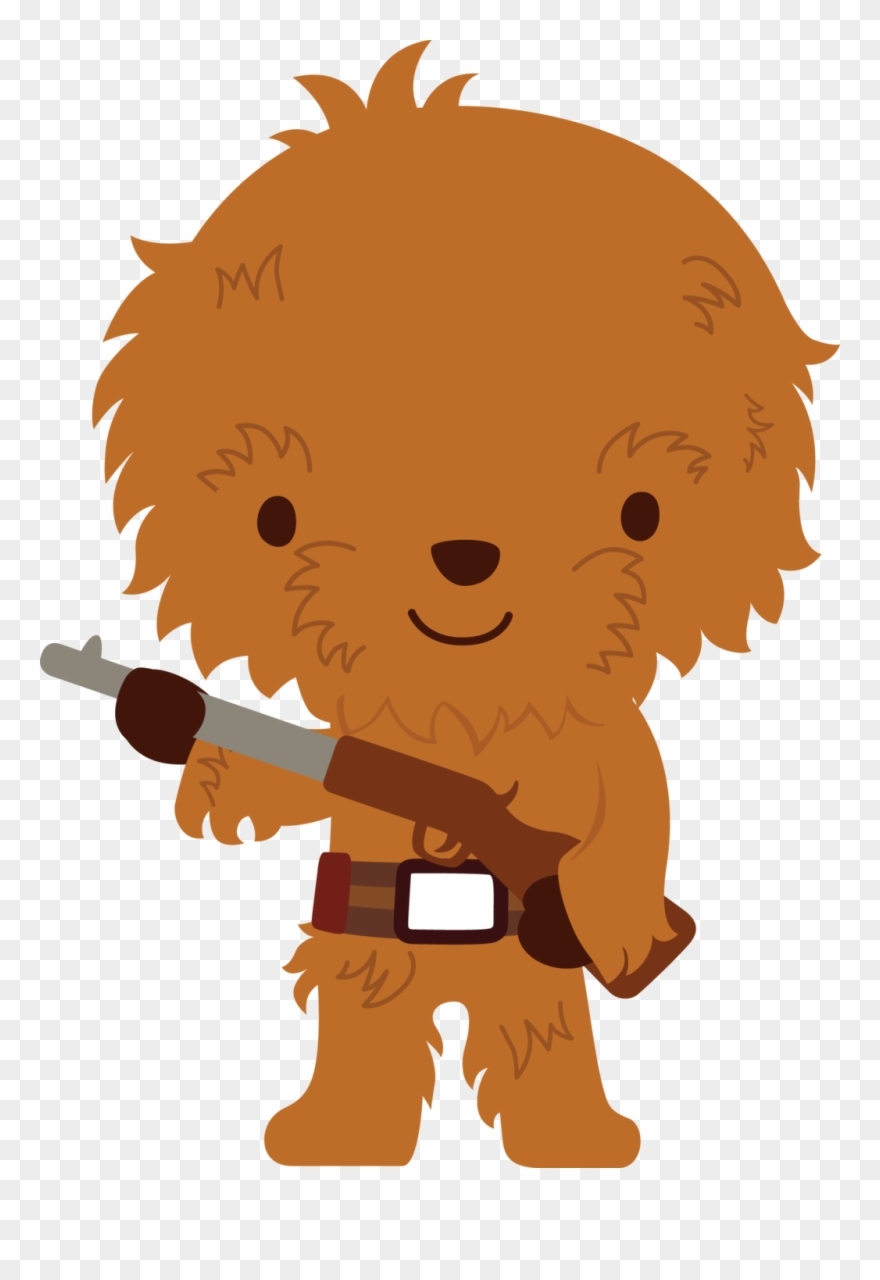 Chewbacca clipart clip art. Banner freeuse download star