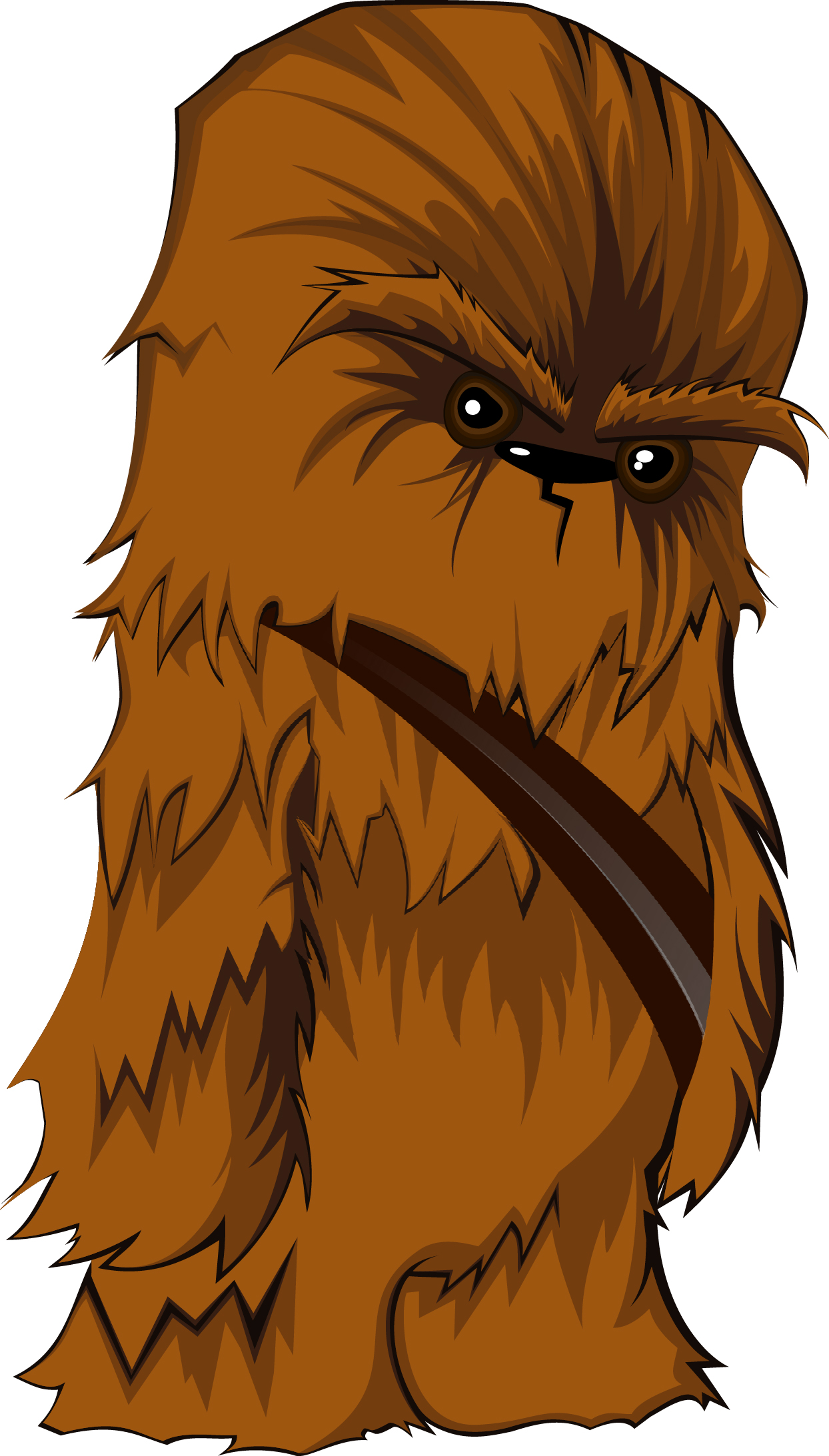 Chewbacca clipart cute. Images of cartoon spacehero