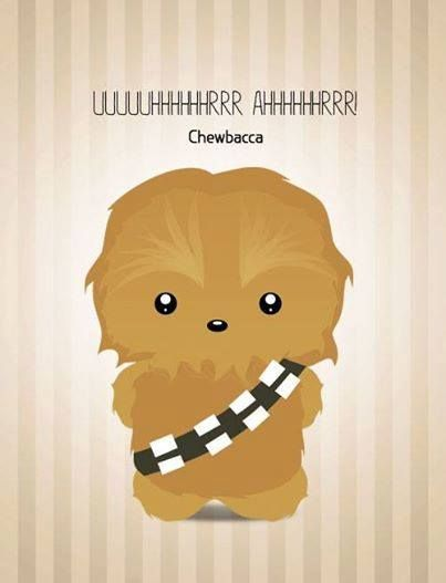 Chewbacca clipart cute. Star wars pinterest and