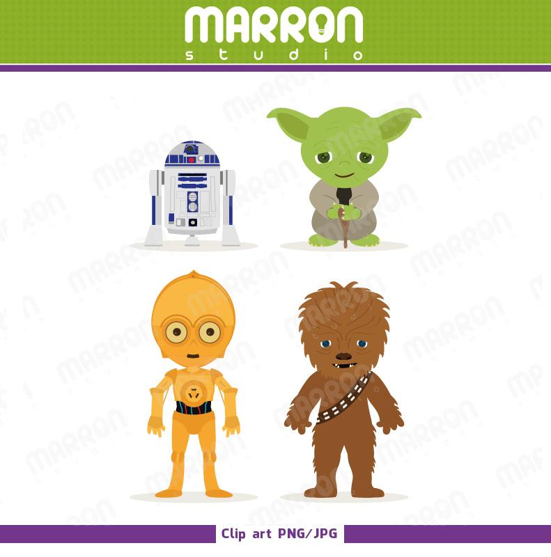 Nobby design ideas yoda. Chewbacca clipart cute