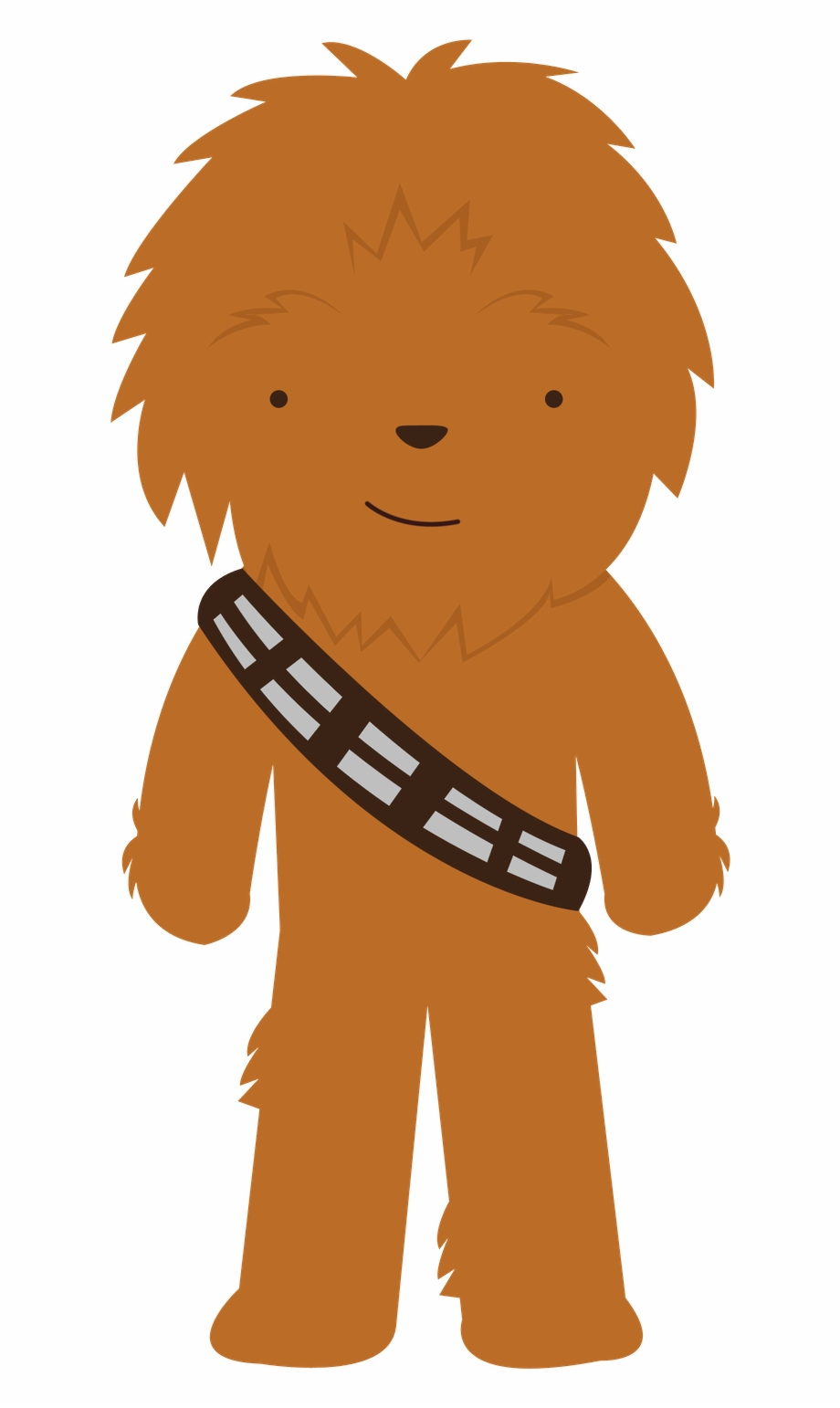 Star wars clip art. Chewbacca clipart cute