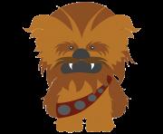 Star wars free images. Chewbacca clipart emoji