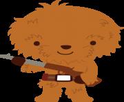 Chewbacca clipart emoji. Star wars by chrispix