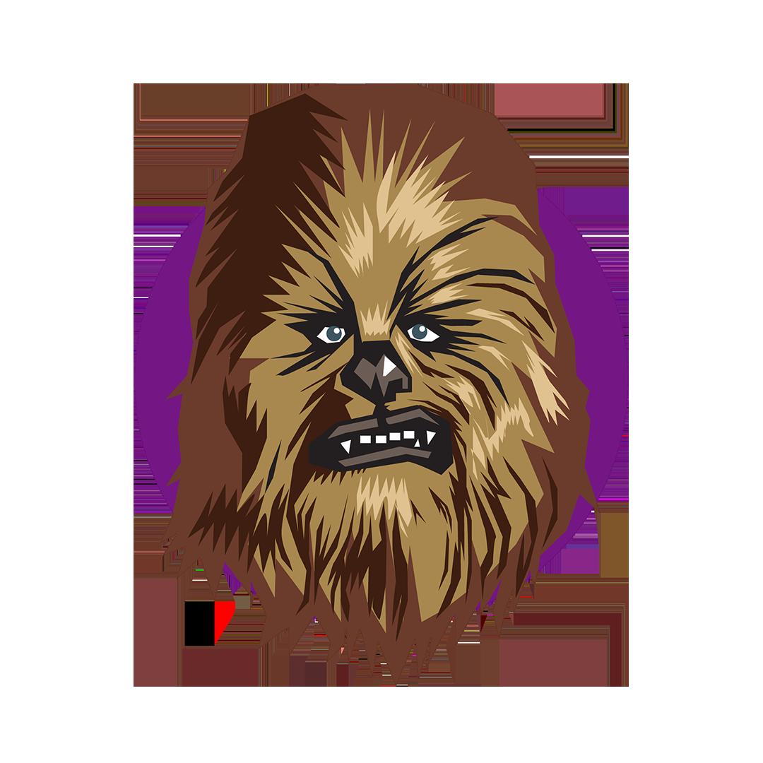 Jerry mosemak star wars. Chewbacca clipart emoji
