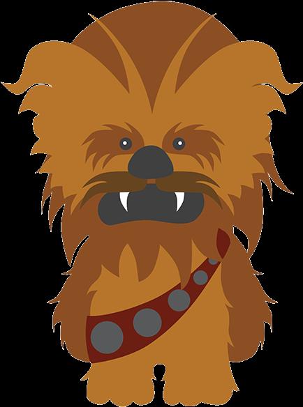 Chewbacca clipart emoji. Hd star wars dibujo