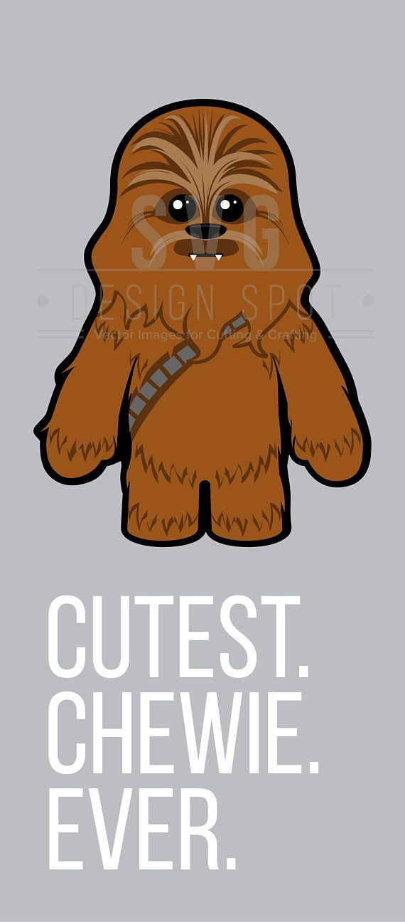 Chewbacca clipart file. Star wars baby svg