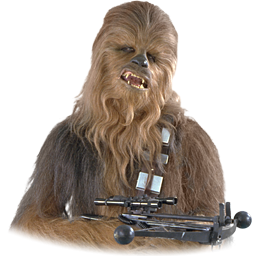 Chewbacca clipart gif transparent. Star wars icon png