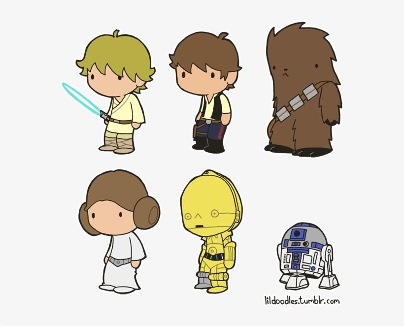 Chewbacca clipart han solo chewbacca. Star wars cute doodle